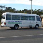 タスマニア州ホバート空港から市街へのシャトルバスのネット予約の方法と乗り方
