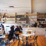 ムーニーポンズで必ず行くべき主役級のカフェNorth District。食べ物の種類が豊富。ブランチ目的で訪れたい。