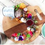 写真映え完璧!盛り付けがアート!The glass denの食事は日本では見られないカラフルな美しさが魅力。