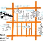 ストリートマップ第一弾・雑貨屋さん好き必見!サウスメルボルンのコベントリーストリート。[メルボルン 地図]