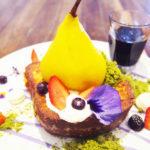 本格派フランスのスイーツが楽しみたい方にオススメ。Le petit princeで丸ごと洋梨のコンポートを食す!